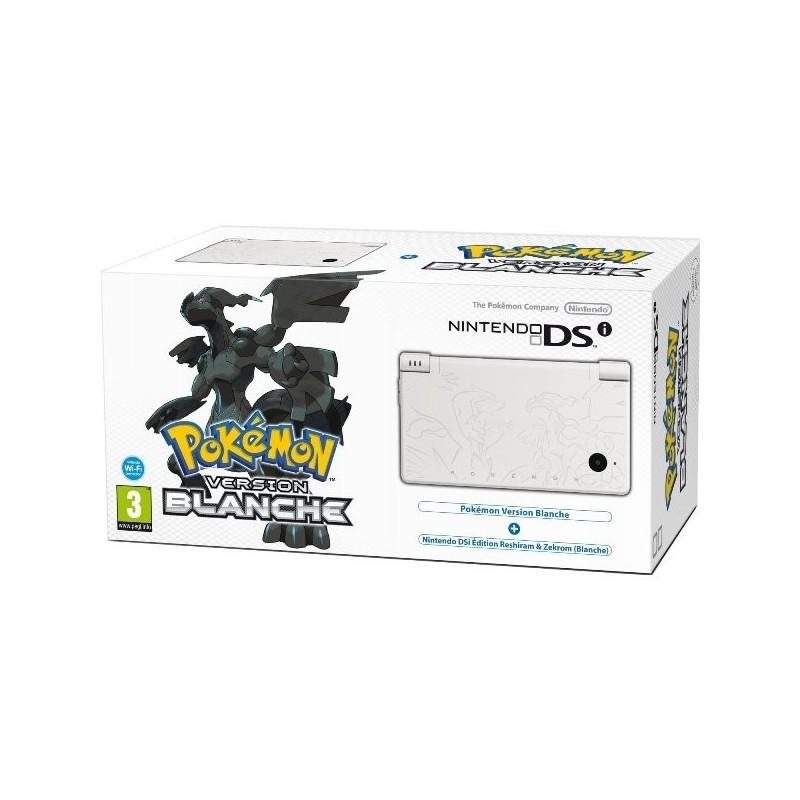 Nintendo DSi Blanche + POKÉMON Version Blanche - Édition Limitée