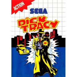 Dick tracy - MASTER SYSTEM