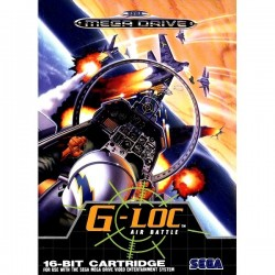 G-LOC Air Battle - MEGADRIVE
