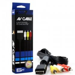 Câble A/V PlayStation - PS1/PS2/PS3