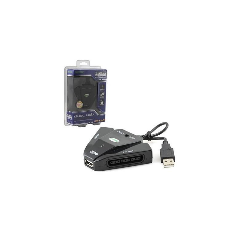Adaptateur PS1/PS2 - USB - 2 Ports