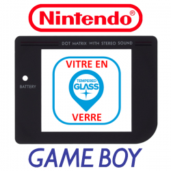 "Vitre d'écran - Game Boy ""Play it Loud"""