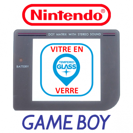 Vitre Rechange Verre - Game Boy Classic