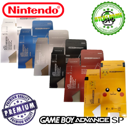 New Box - GBA - GBA SP -...
