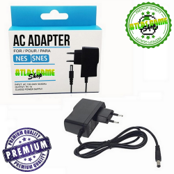 AC Power Adapter - NES/SNES