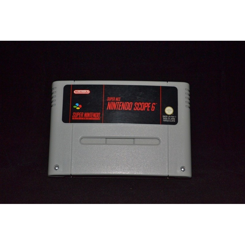 Super Nes Nintendo Scope 6 - SNES
