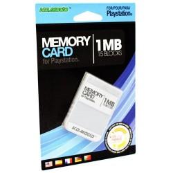 Carte Mémoire 1 MB - Playstation - NEUF