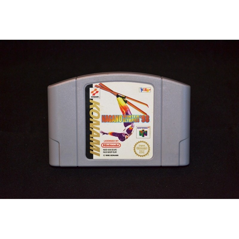 NINTENDO > Nintendo 64 > Jeux > Nagano Winter Olympics '98 - Nintendo