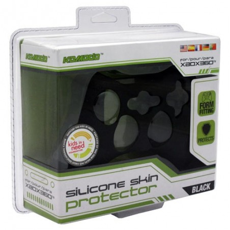 Protection Manette Silicone - NOIR - XBOX 360