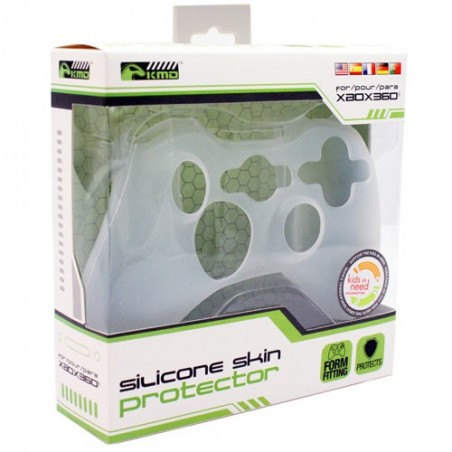 Protection Manette Silicone - BLANC - XBOX 360