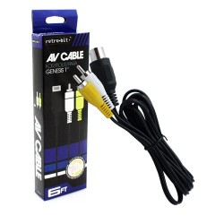 CABLE AUDIO/VIDEO MEGA DRIVE 1